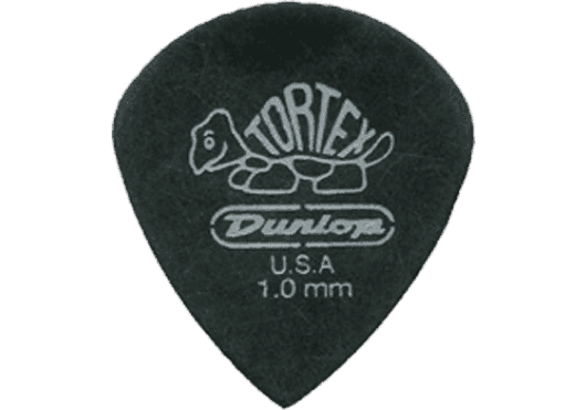 Dunlop Tortex Pitch Black III 1,00mm sachet de 12 482P100