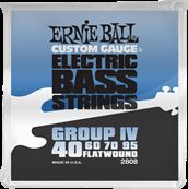 ERNIE BALL CORDES BASSES Flatwound group IV 40-95 2808