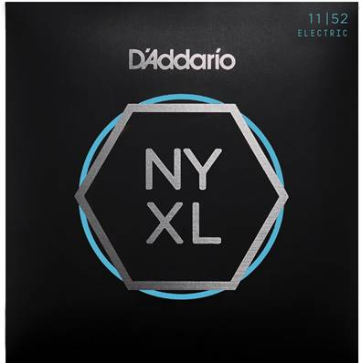 D'Addario NYXL1152 filet nickel, aiguës Medium / graves Heavy, 11-52