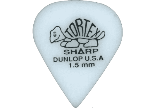 Dunlop Tortex Sharp 1,50mm sachet de 12 412P150