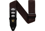 ERNIE BALL Sangle pickholder marron