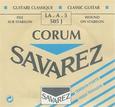 Savarez NEW CRISTAL-CORUM SAVAREZ LA-5 BLEU FILE ARGENTE 505J