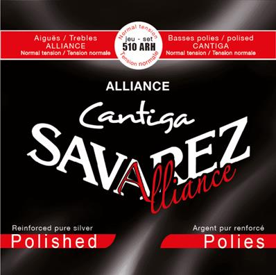 Savarez 510ARH Alliance New Cristal Cantiga Rouge Tirant normal