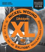 D'Addario EXL110BT, Balanced Regular Light, 10-46