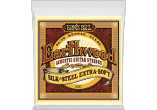 Ernie Ball Cordes Acoustique Earthwood 80/20 bronze extra soft silk&steel 10-50