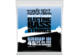 Ernie Ball Cordes Basse Flatwound group III 45-100