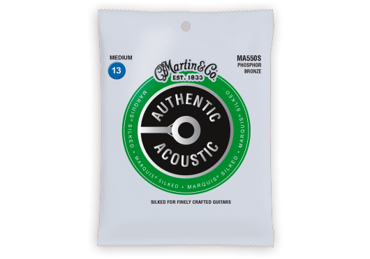 Martin Cordes Acoustique Authentic Silked, Medium, 92/8 MA550S