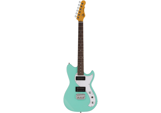 G&L Tribute Fallout Standard Mint Green