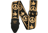 ERNIE BALL Sangle jacquard peace love dove