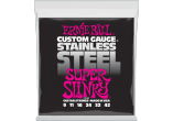 Ernie Ball Cordes Electriques Slinky stainless steel 9-42