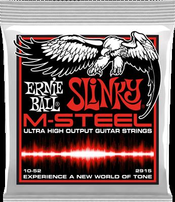 Ernie Ball Cordes Electriques Slinky msteel 10-52