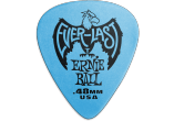 ERNIE BALL Mediators everlast sachet de 12 bleu 0,48mm