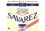 Savarez 500CR New Cristal Corum Rouge Tirant normal