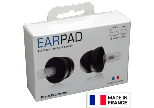 Earsonics PROTECTION AUDITIVE PROTECTEUR AUDITIF AEA EARPAD