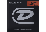 Dunlop Electric Nickel 10-74 8 cordes DEN1074
