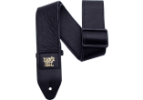 Ernie Ball Courroie Sangle cuir italien noir