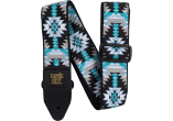 Ernie Ball Courroie Sangle jacquard albuquerque blue