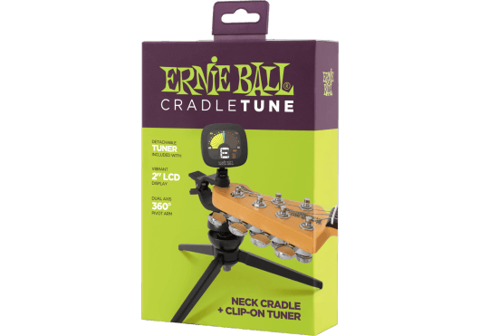 ERNIE BALL Accordeurs chromatiques cradletune