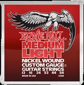 ERNIE BALL Nickel wound custom gauge medium light 12-54 2206