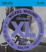 D'Addario EXL115, Medium/Blues-Jazz Rock, 11-49