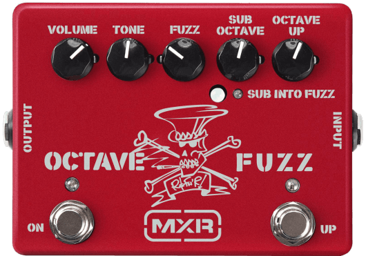 Mxr SF01R Octave Fuzz Slash Limited Edition