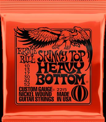 ERNIE BALL CORDES ELECTRIQUES Skinny top heavy bottom !10-13-17-30-42-52 2215