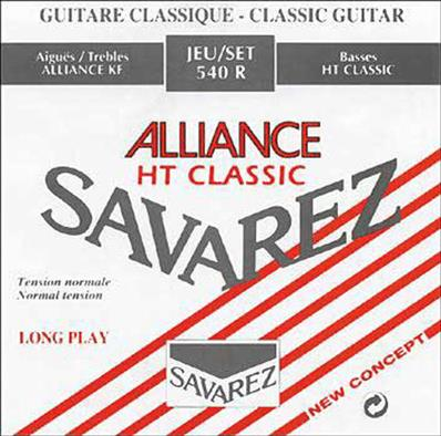 SAVAREZ ALLIANCE ROUGE T/NORMAL CORDES CLASSIQUES ALLIANCE-HT CLASSIC 540R