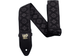 Ernie Ball Courroie Sangle jacquard regal black