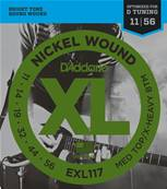 D'Addario EXL117, Medium Top/Extra Heavy Bottom, 11-56