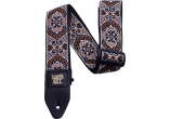 Ernie Ball Courroie Sangle jacquard tribal brown
