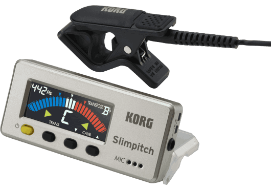 Korg Accordeur SLIMPITCH SLM 1CM PG