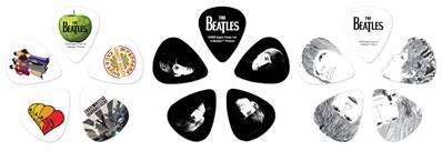 D'Addario Boîte de médiators signature Beatles par D'Addario, logo, 15 médiators