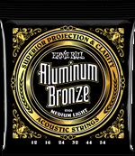 ERNIE BALL CORDES ACOUSTIQUES Aluminium bronze medium light 12-54 2566