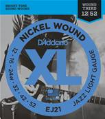 D'Addario EJ21, Jazz Light, 12-52