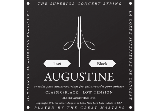 Augustine Noir Concert tension faible