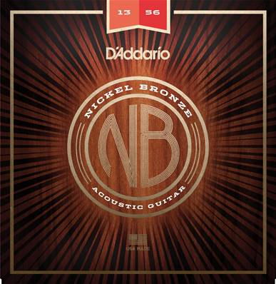D'Addario NB1356 nickel bronze, Medium, 13-56