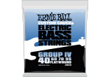 Ernie Ball Cordes Basse Flatwound group IV 40-95
