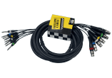 Yellow Cable Octopaire 8 jacks mono 8xlr fem. 5 m OC11