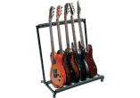 RTX Stand rack universel 5 guitares - noir