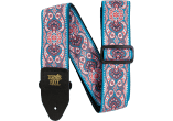 Ernie Ball Courroie Sangle jacquard pink paisley