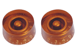 Yellow Parts Boutons de potentiomètre type Les Paul® gold - lot de 2 EZ1219G