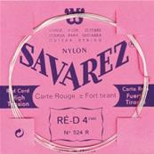 SAVAREZ RE-4 ROUGE FILEE M/AR CORDES CLASSIQUES TRADITIONNELLE 524R
